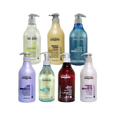 L OREAL 萊雅 極緻細胞/強化/絕色/直漾/盈波/敏感/控油洗髮精500ML均一價699元