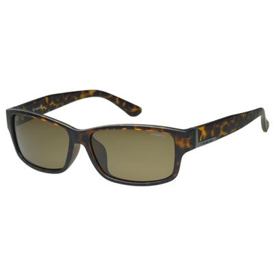 Polaroid 寶麗萊-偏光太陽眼鏡(霧面琥珀色)