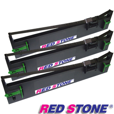 RED STONE for EPSON S015611/LQ690C黑色色帶組(1組3入)