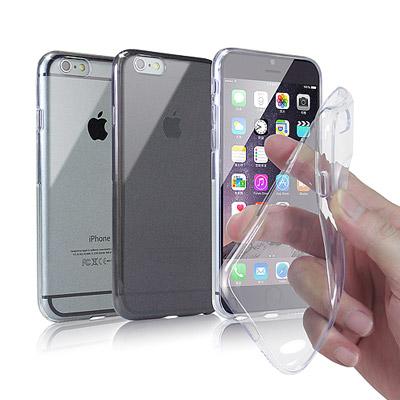 X mart  Apple iPhone6 Plus 5.5吋 水晶TPU軟質薄...