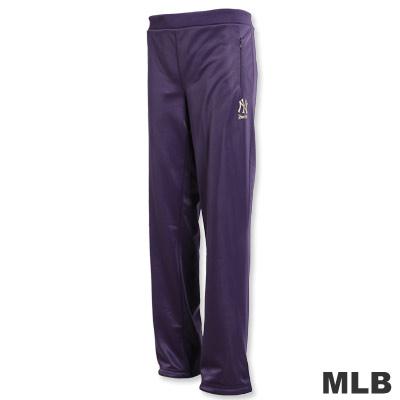 MLB-紐約洋基隊運動長褲-深紫(女)