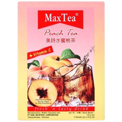 MAX TEA 美詩水蜜桃茶PEACH TEA(23gx5包)
