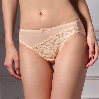 可蘭霓Clany  舒活女人蕾絲透氣L-Q(2XL)內褲 春漾膚