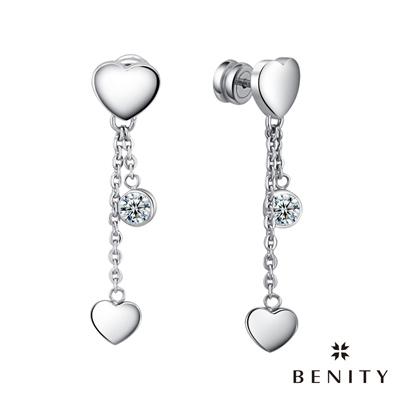 BENITY 小彩虹 316白鋼/西德鋼 垂釣式耳環