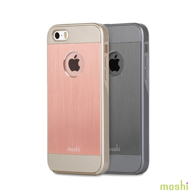 Moshi iGlaze Armour for iPhone 5SE 鋁製背殼