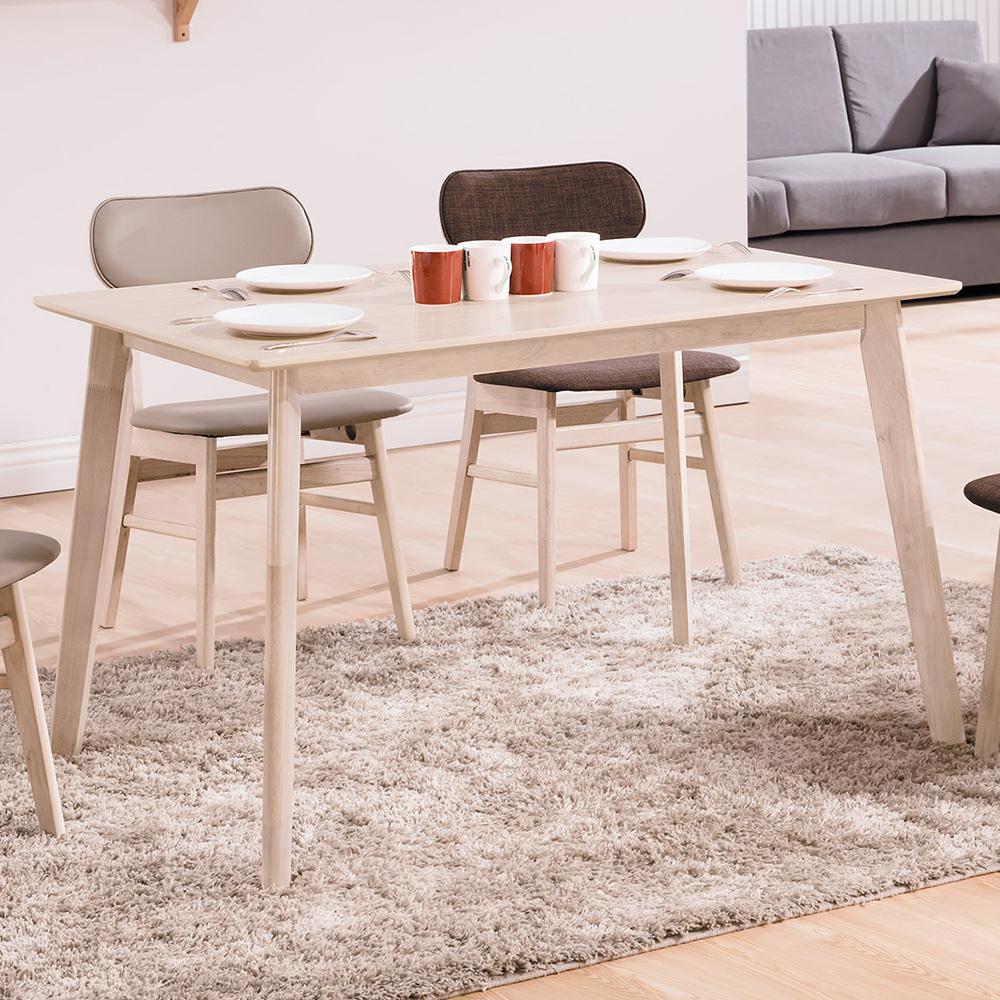 Bernice-菲德4尺北歐風餐桌-120x75x75cm