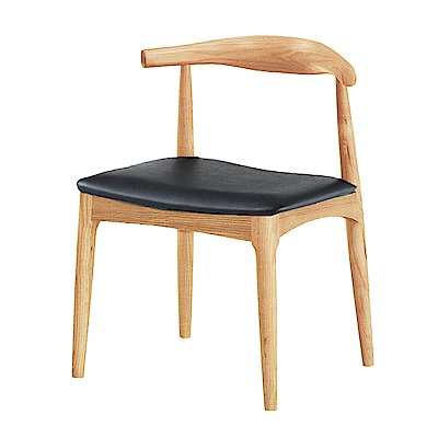 AS-布萊茲原木餐椅-48.5x48x75.5cm