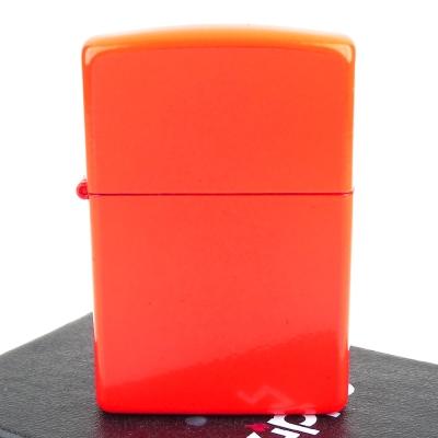 【ZIPPO】美系~Neon Orange-霓虹橘烤漆加工打火機
