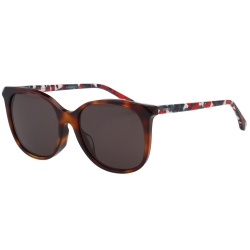 FENDI 小貓眼 太陽眼鏡 (琥珀色) FF0172FS-TTR