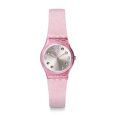 Swatch 就是SWATCH ROSE GLISTAR 玫瑰星沙手錶