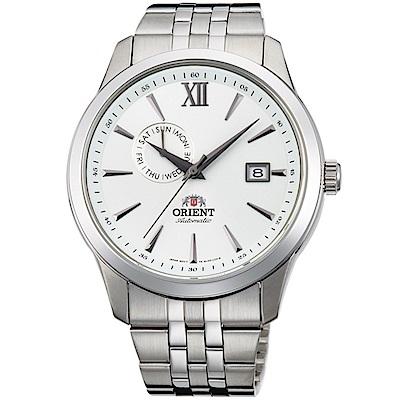 ORIENT東方錶 Classic Design系列簡約日期機械錶(FAL00003W)
