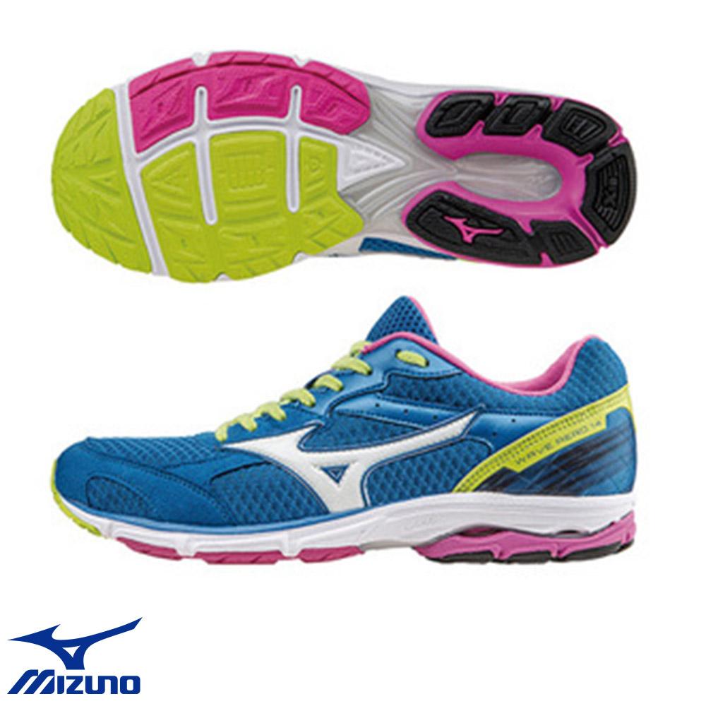 Mizuno WAVE AERO 14 女慢跑鞋 J1GD153502