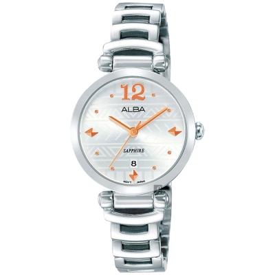 ALBA雅柏  Fashion 幾何圖騰小錶徑女錶(AH7M75X1)-28mm