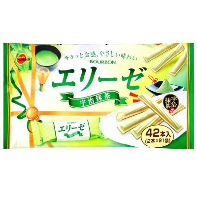 Bourbon北日本 愛麗絲抹茶捲心酥(151.2g)