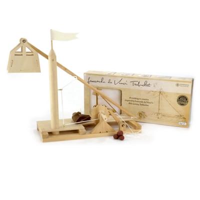 賽先生科學工廠 達文西發明手稿-重錘投石器