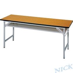 【NICK】CPD塑合板檯面櫻桃木紋會議桌(180×45)
