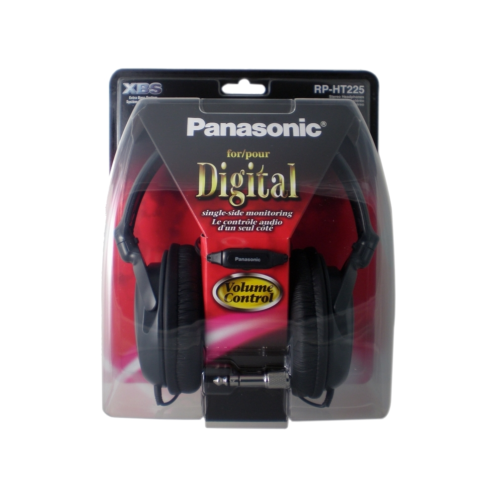 Panasonic線控調音頭戴式耳機RP-HT225散裝