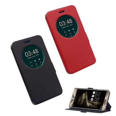 揚邑 ASUS ZenFone 3 Deluxe/5.7吋 星光開窗智能休眠磁扣...