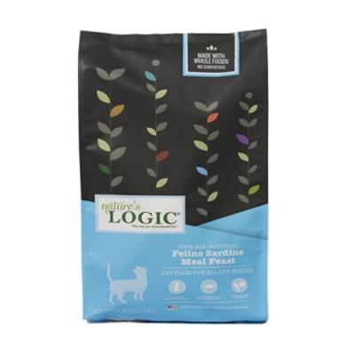 LOGIC自然邏輯天然糧《全貓種低敏沙丁魚》挑嘴貓 亮毛 3.3磅/包 2入