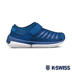 K-Swiss Tubes Aqua VLC休閒運動鞋-童-藍/白