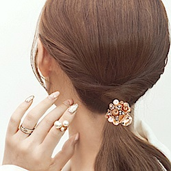 Hera 赫拉 金屬水鑽珍珠系列小抓夾-3款