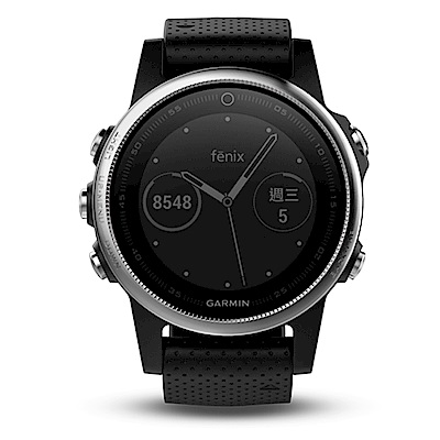 GARMIN fenix 5S 進階複合式戶外GPS腕錶-黑色