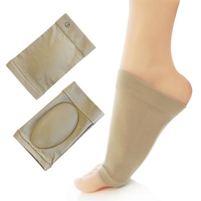足的美形 纖維矽膠足弓保護套(1雙)