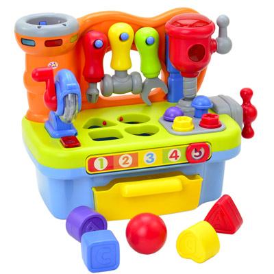 Little Artisan 幼兒DIY益智趣味遊戲電動聲光工作台