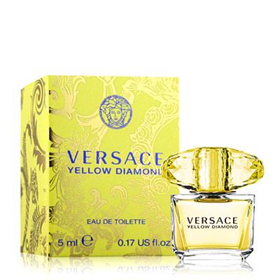 Versace凡賽斯 香愛黃鑽女性淡香水小香(5ml)