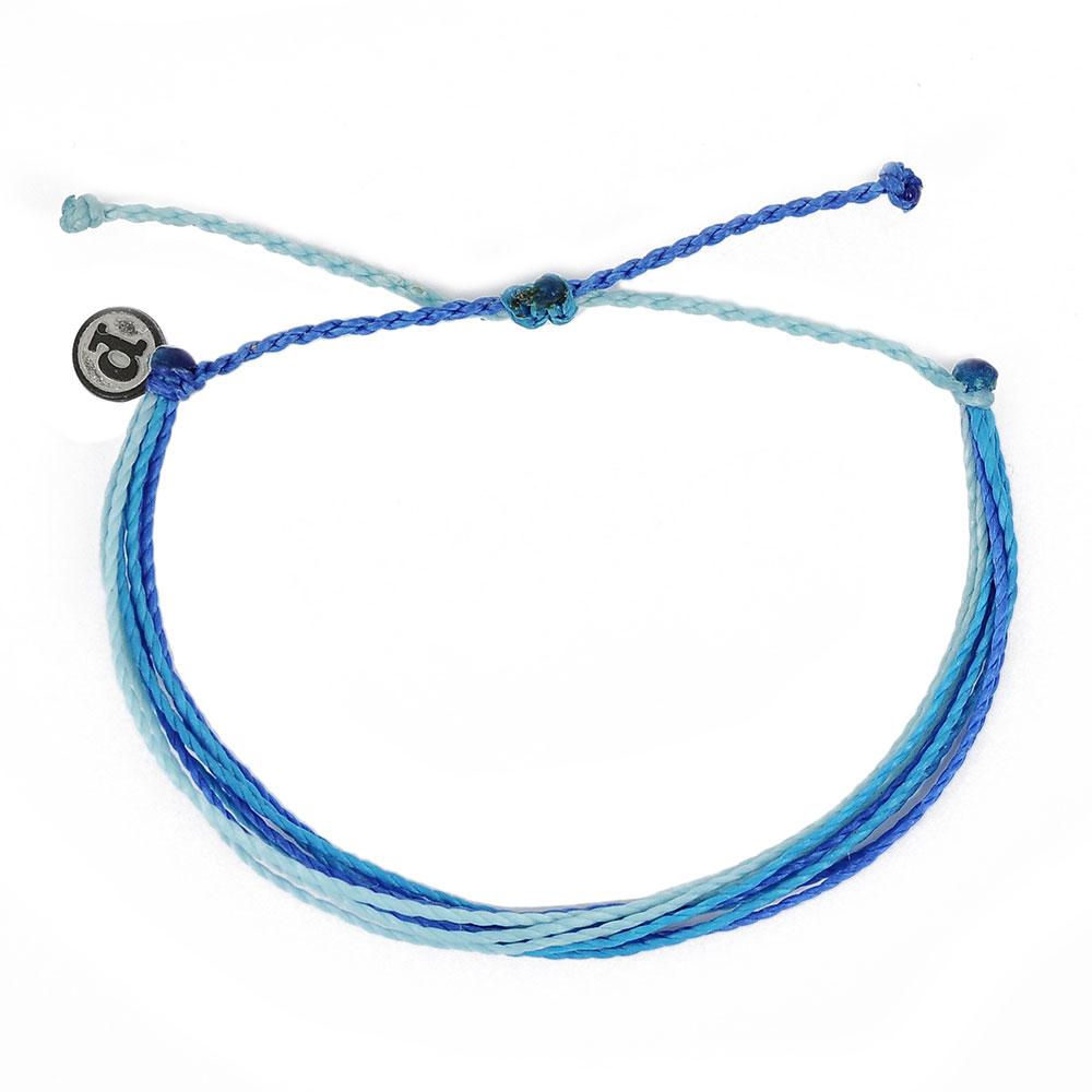 Pura Vida 美國手工 海洋傳說基本繽紛款 可調式手鍊衝浪海灘防水手繩