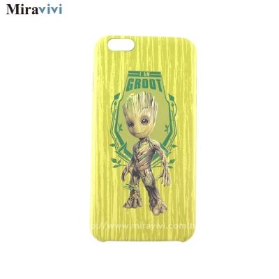 MARVEL星際異攻隊2 iPhone6/6S Plus超薄立體浮雕皮革背蓋