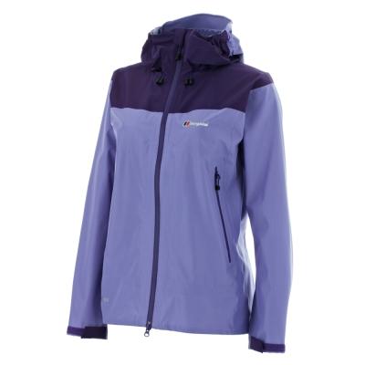 【Berghaus貝豪斯】女款GT頂級3L防水外套VELUMⅡ外套H22FQ0紫