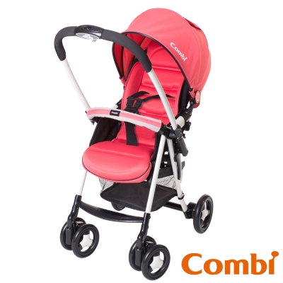 Combi 城市輕休旅雙向嬰幼兒手推車Urban Walker Lite MC 火象紅