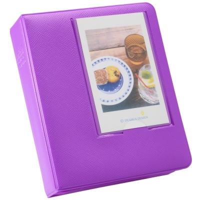 [快]Kamera for instax mini 馬卡龍拍立得相冊(64張)-紫
