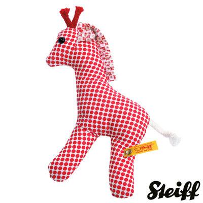 STEIFF德國金耳釦泰迪熊 - Cirous Giraffe  手搖鈴 (12cm)