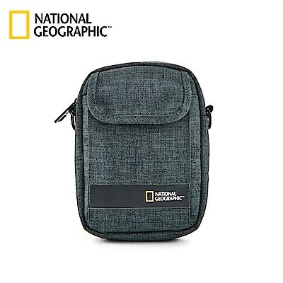 國家地理 National Geographic Stream 無印小型側背包-墨綠