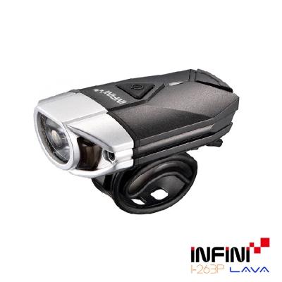 INFINI LAVA I-263P 3瓦高效能專業自行車前燈 銀