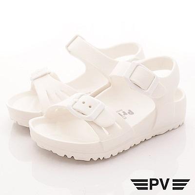 PV日系私藏 超輕量休閒涼鞋 891白 (中小童段)