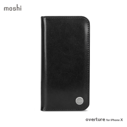 Moshi Overture for iPhone XS/X 側開卡夾型保護套