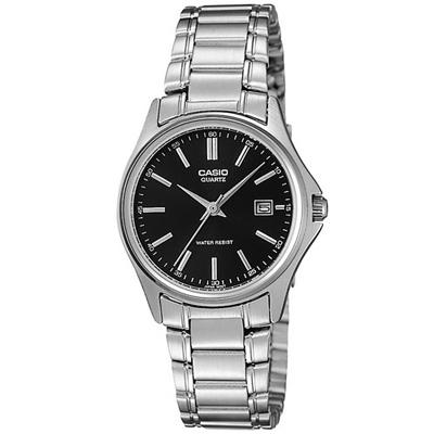CASIO 羅馬時尚精緻淑女腕錶(LTP-1183A-1A)-黑/28mm