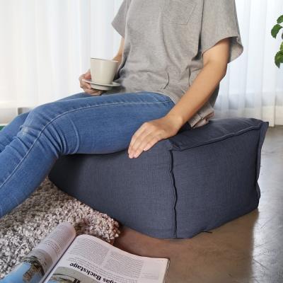 H&D JASON賈森簡約風舒適懶骨頭腳凳-多色選70*40*30cm