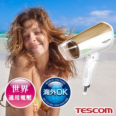 TESCOM 雙電壓大風量負離子吹風機 BID42TW (白色)