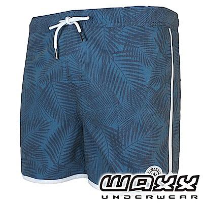 WAXX 經典系列快乾型男海灘褲(海藍色)(15英吋)