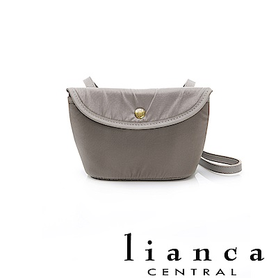 lianca 純手工製LIMONTA相機包(小) 灰