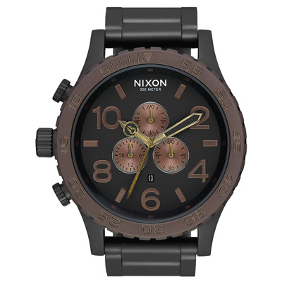 NIXON 潛龍諜影運動腕錶-A0832786-51mm