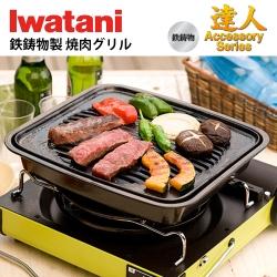日本岩谷Iwatani 鑄鐵牛排烤盤