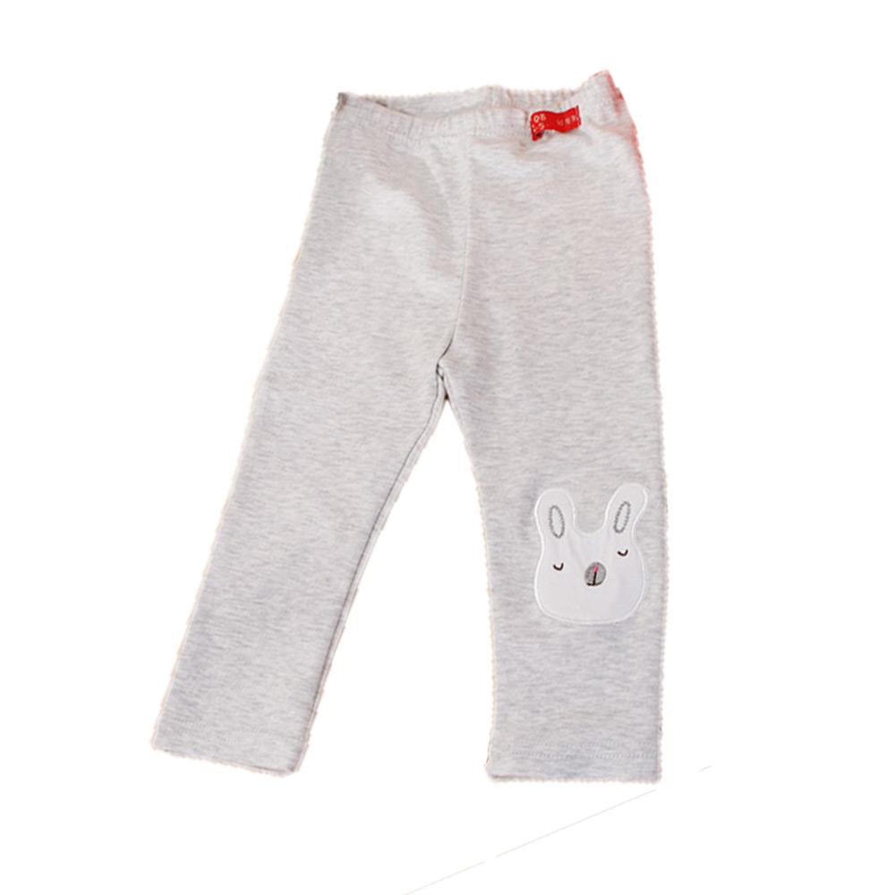 白兔修身長褲 淺灰 k60153