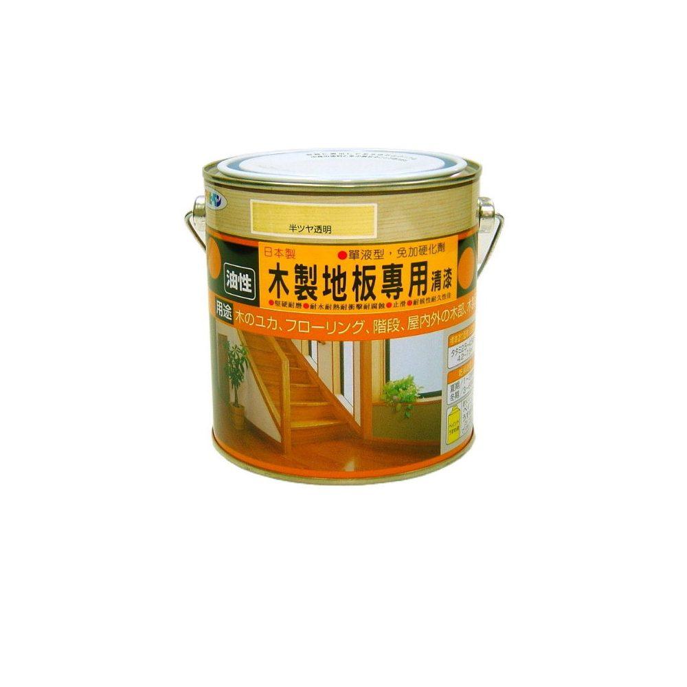 日本製木製地板耐磨清漆0.7L