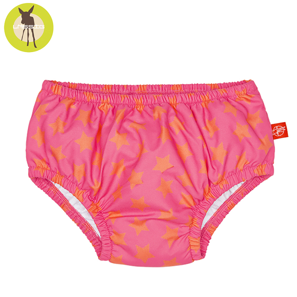 德國Lassig-嬰幼兒抗UV游泳尿布褲-滿天星