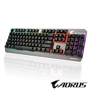 技嘉AORUS K7 Cherry紅軸RGB電競鍵盤